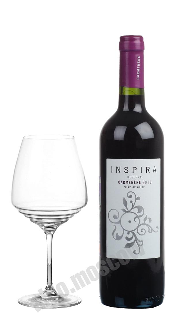 Vina Chocalan Vina Chocalan Inspira Carmenere Reserva чилийское вино Вина Чокалан Инспира Карменер Резерва