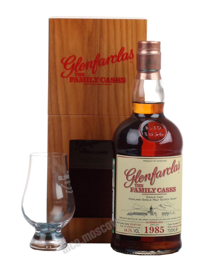 Glenfarclas Glenfarclas Family Cask 1986 шотландский виски Гленфарклас Фамили Каск 1986 года