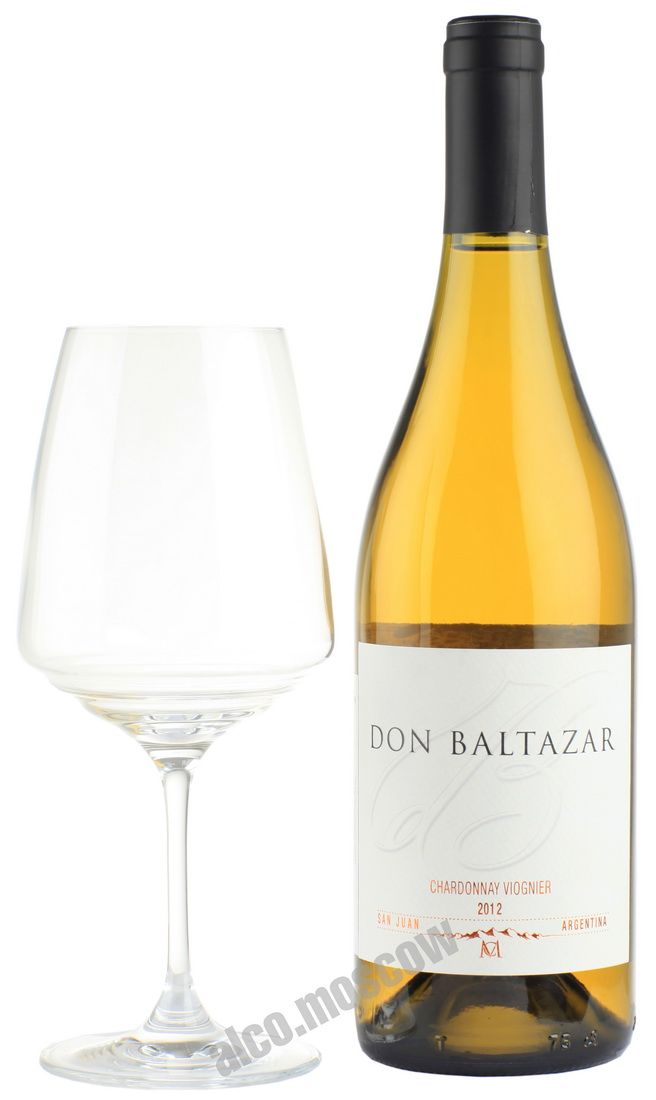 Casa Montes Casa Montes Don Baltazar Chardonnay Viognier 2012 аргентинское вино Каса Монтес Дон Бальтазар Шардоне Вионье 2012