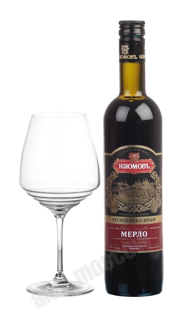 Изюмов Изюмов Мерло российское вино