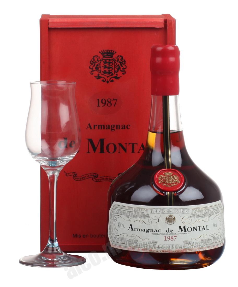 De Montal De Montal 1987 арманьяк Баз-Арманьяк де Монталь 1987