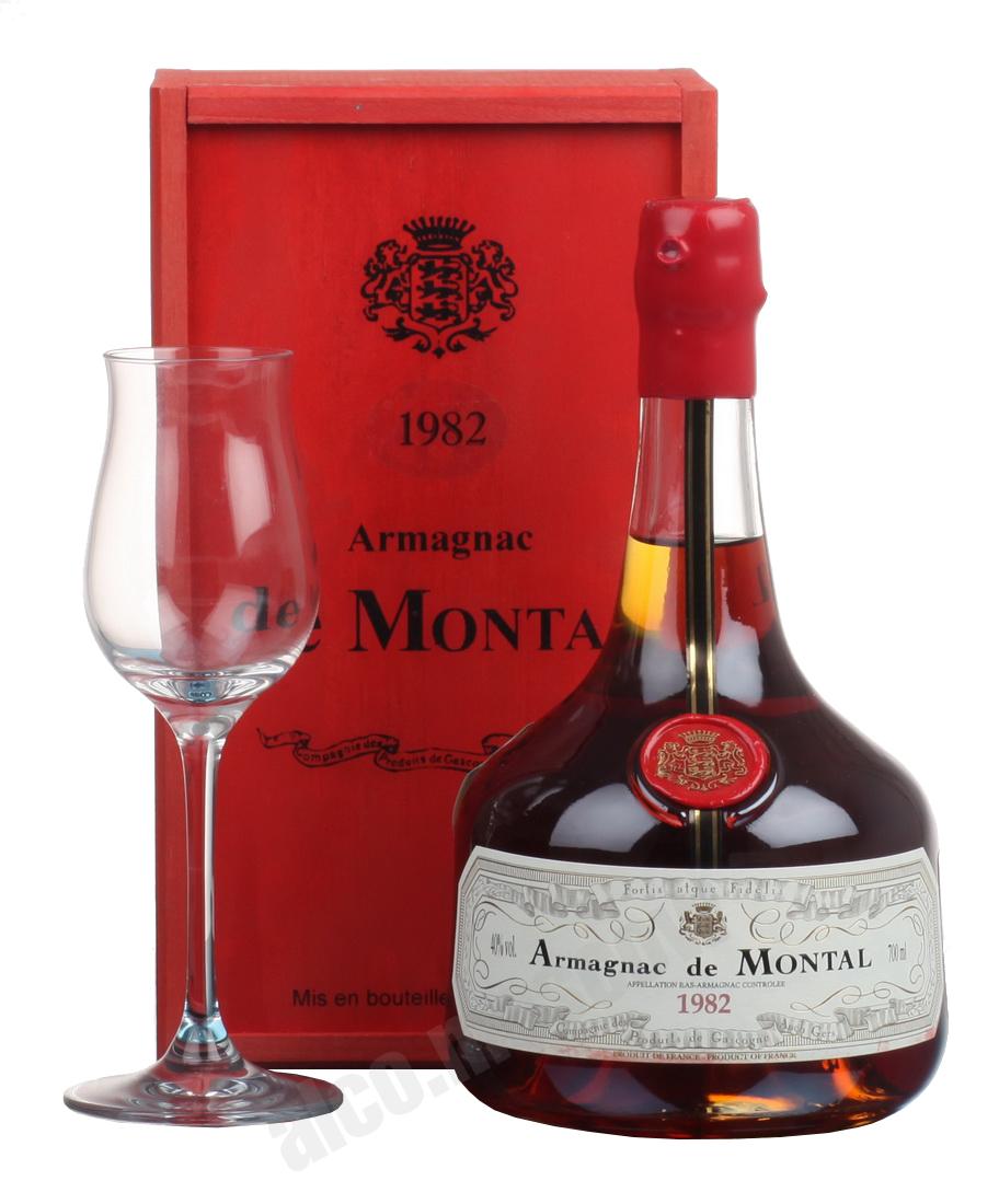 De Montal Montal 1982 арманьяк Баз-Арманьяк де Монталь 1982