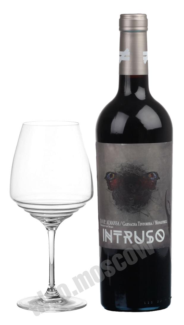 Bodegas Lo Nuevo Bodegas Lo Nuevo Intruso Almansa Garnacha Tintorera испанское вино Бодегас Ло Нуэво Интрусо Альманса Гарнача Тинторера