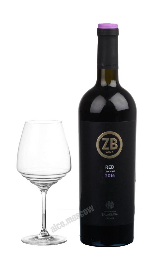 ZB Wine ZB Wine Red Российское вино Золотая Балка Рэд