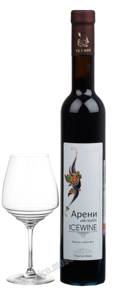 Веди Алко Vedi Alco Areni Icewine Армянское вино Веди Алко Арени Айсвайн
