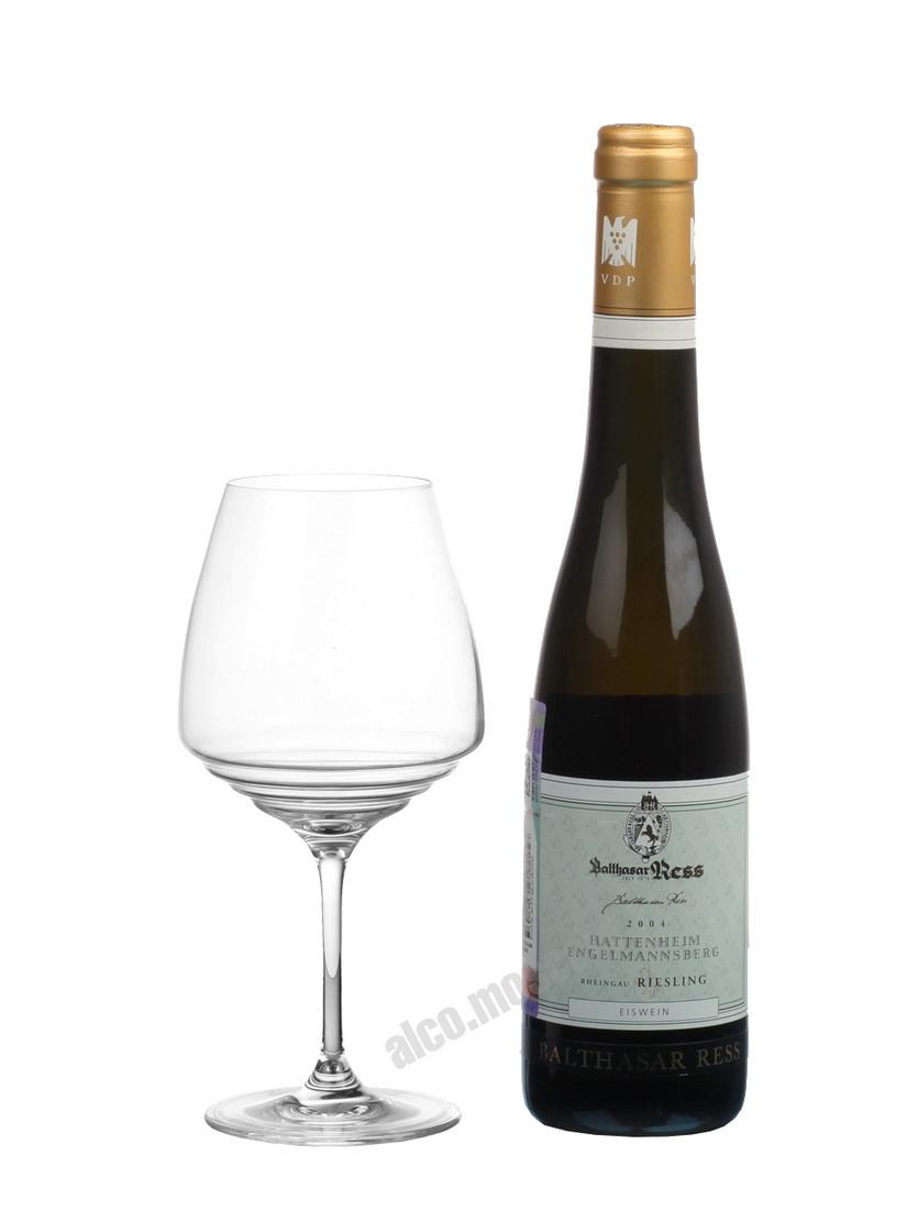 Balthasar Ress Balthasar Ress Hattenheimer Engelmannsberg Rheingau Riesling Einswein 2004 Немецкое вино Хатенхайм Энгельмансберг Рейнгау Ри Рислинг Айсвайн 2004г