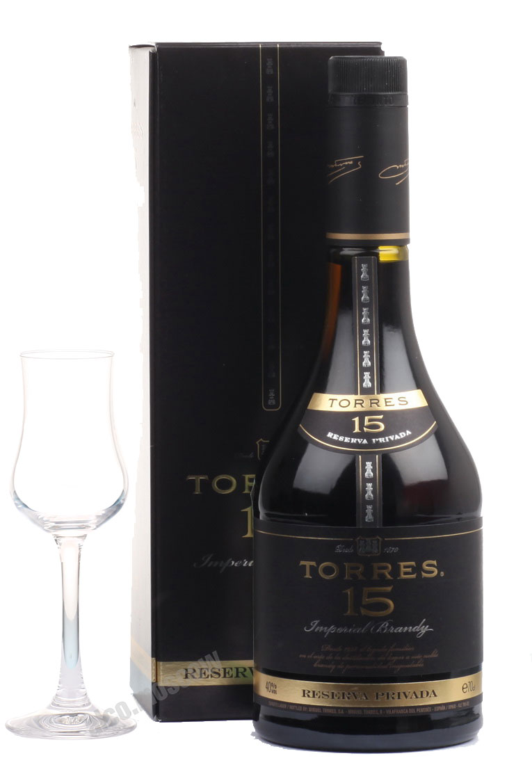 Torres Torres Reserva Privada 15 years Бренди Торрес15 Резерва Привада