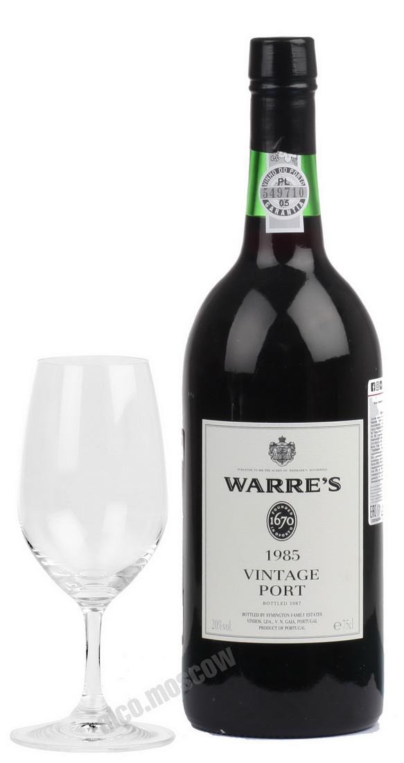Warres  Warres Vintage 1985 Портвейн Уоррс Винтаж 1985