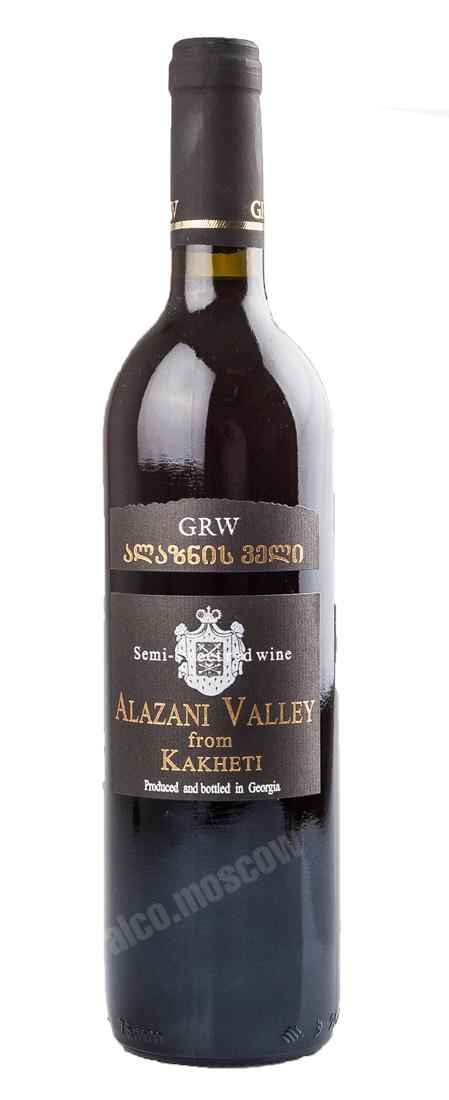 Grw GRW Alazani Valley грузинское вино ГРВ Алазанская долина