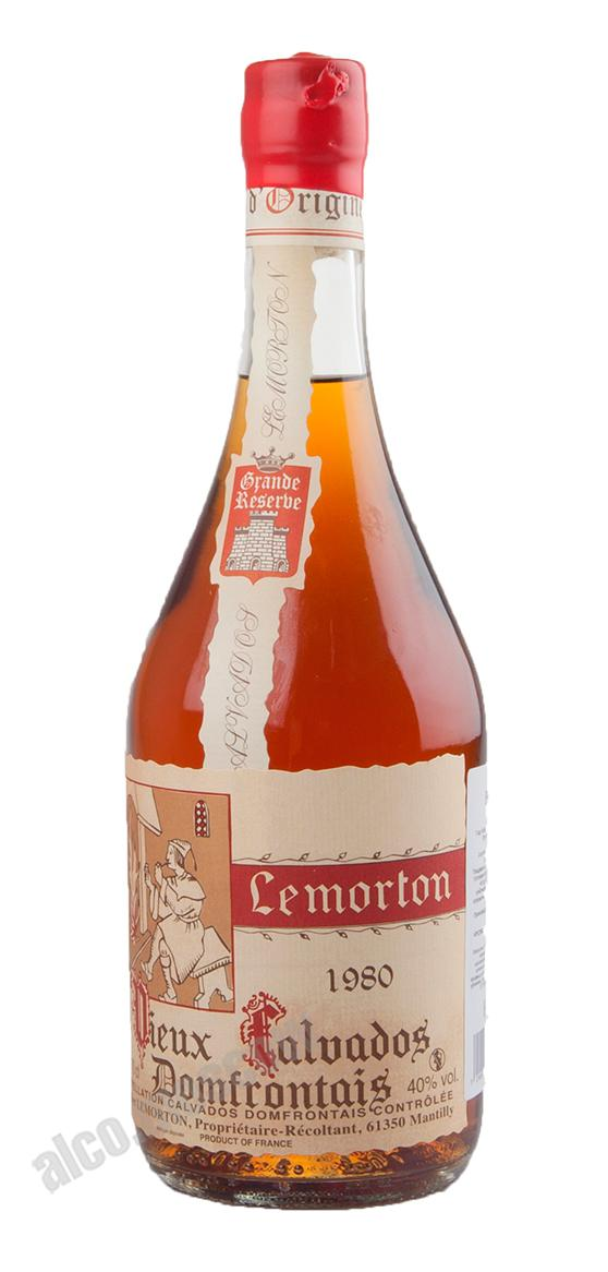 Lemorton Lemorton Vintage 1980 Кальвадос Лемортон Винтаж 1980г