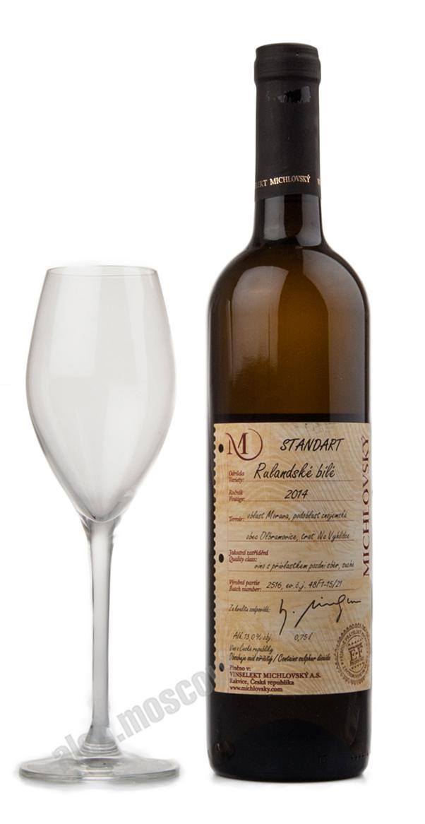 Vinselekt Michlovsky Vinselekt Michlovsky Rulandske Bile Standard Pozdni Sber чешское вино Руландское Белое Стандарт Поздний Сбор