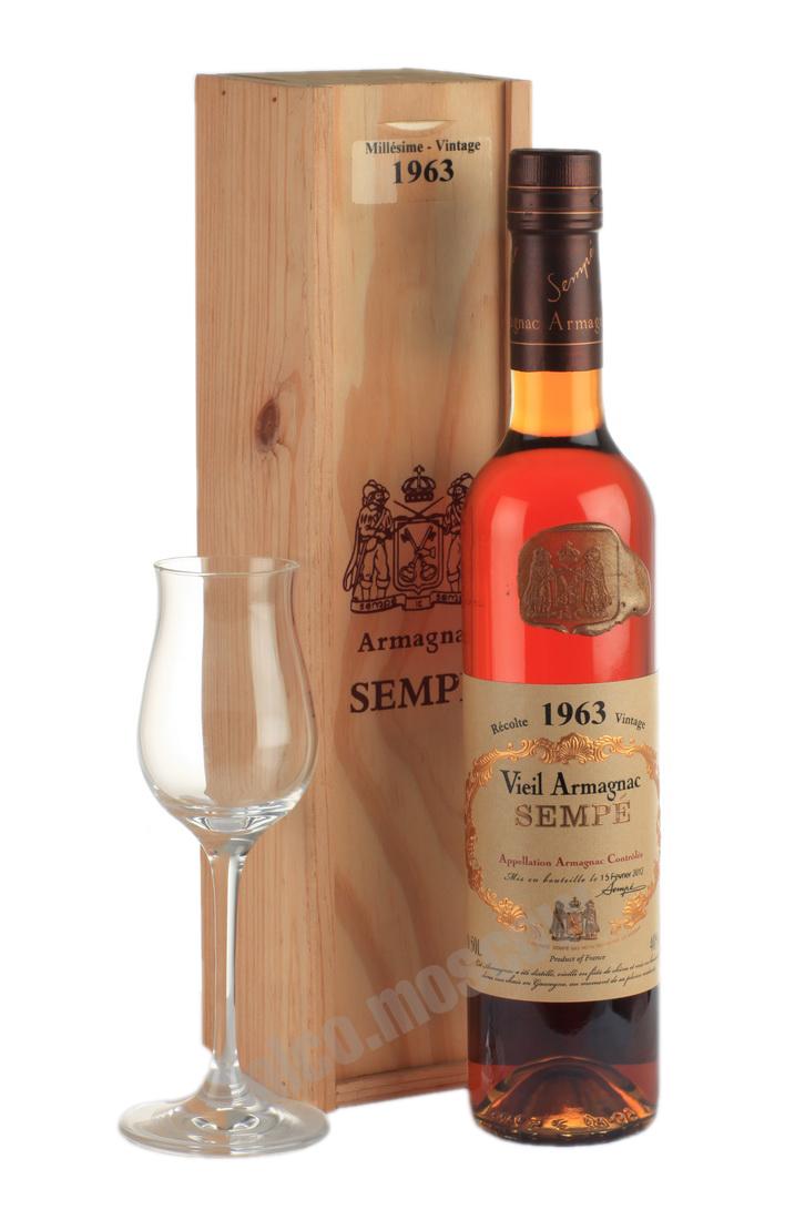 Sempe Арманьяк Sempe 1990 арманьяк Семпе 1990 года