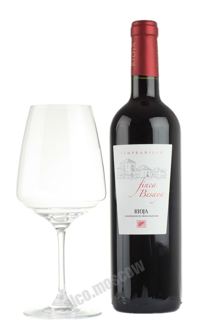 Finca Besaya Finca Besaya Tempranillo испанское вино Финка Бесайя Темпранильо