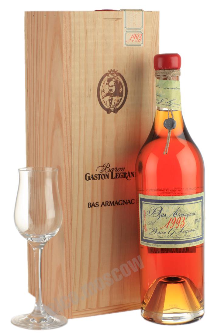 Baron G. Legrand Арманьяк Baron Legrand 1992 купить арманьяк Барон Легран 1992 года armagnac лучший выбор