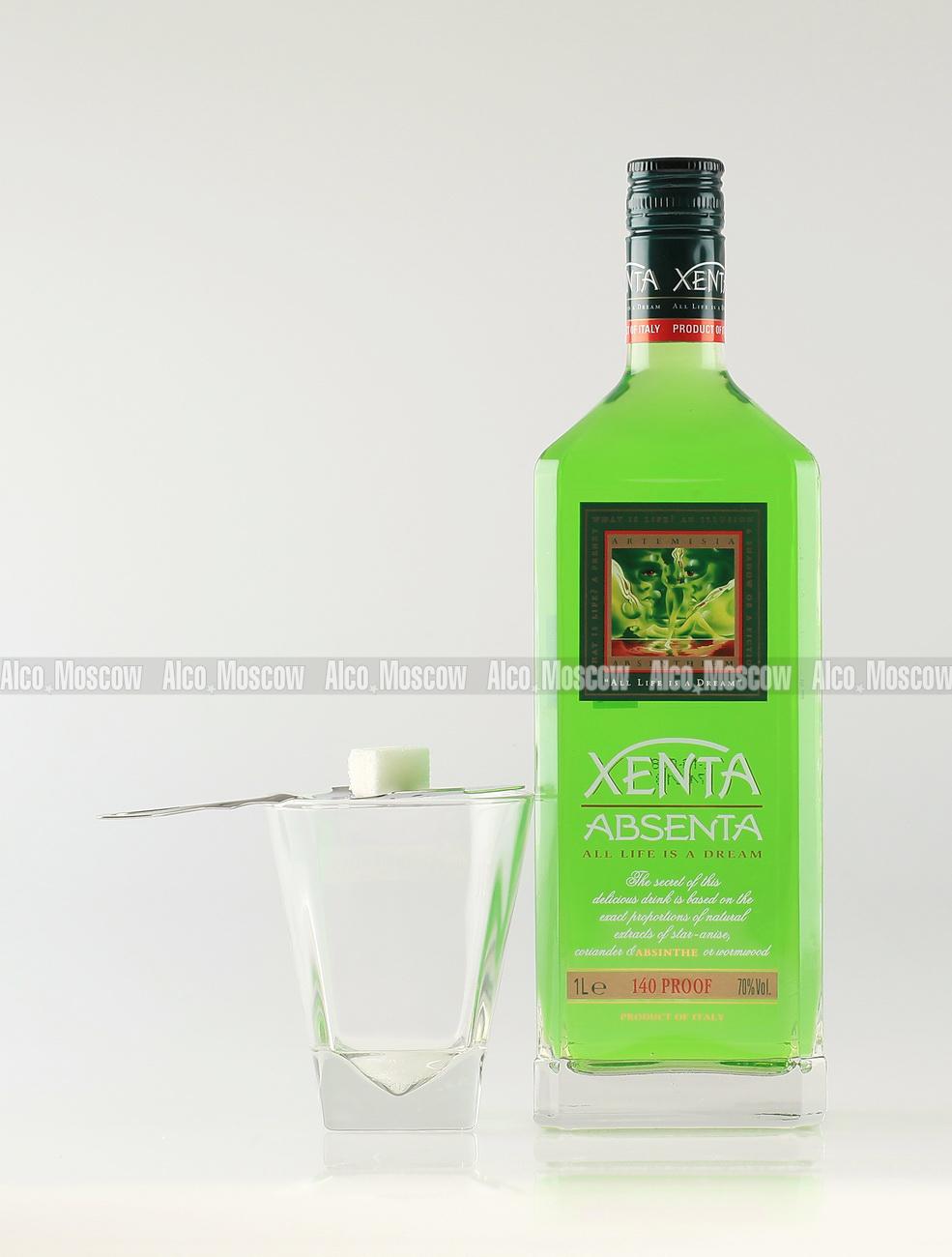 Xenta Xenta absinth Абсент Ксента