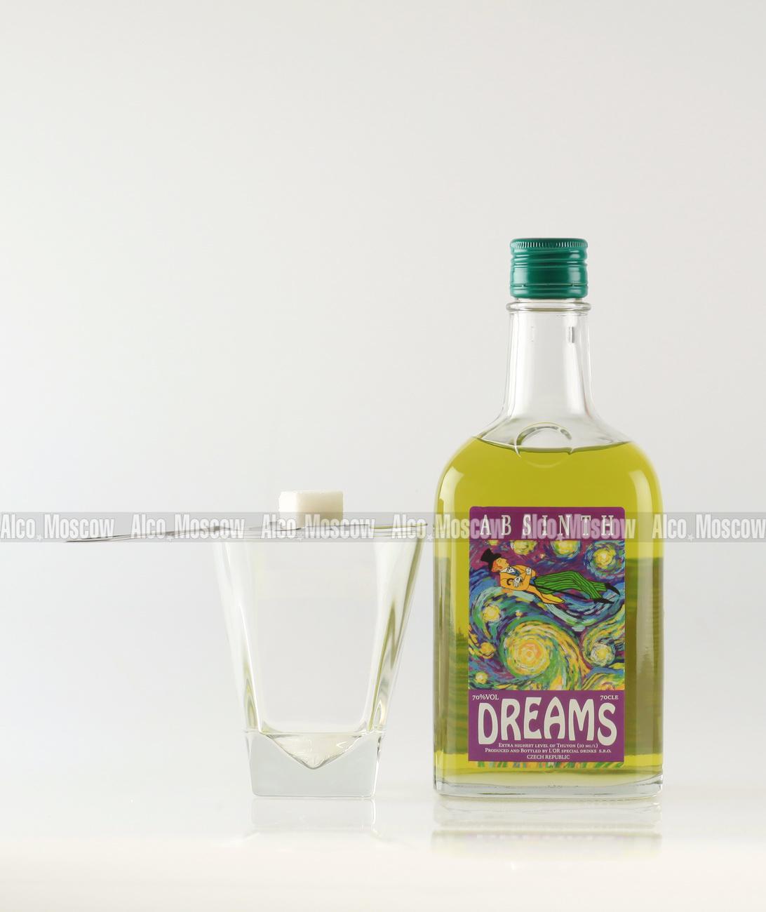 Dreams Dreams Абсент Дримс содержание туйона 10