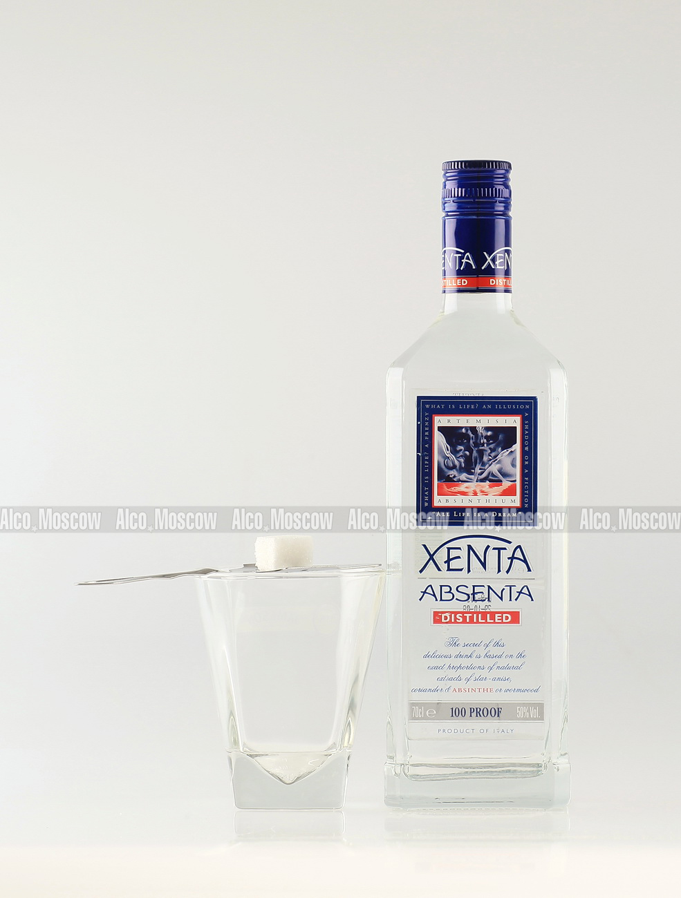 Xenta Xenta Distilled абсент Ксента Дистилд
