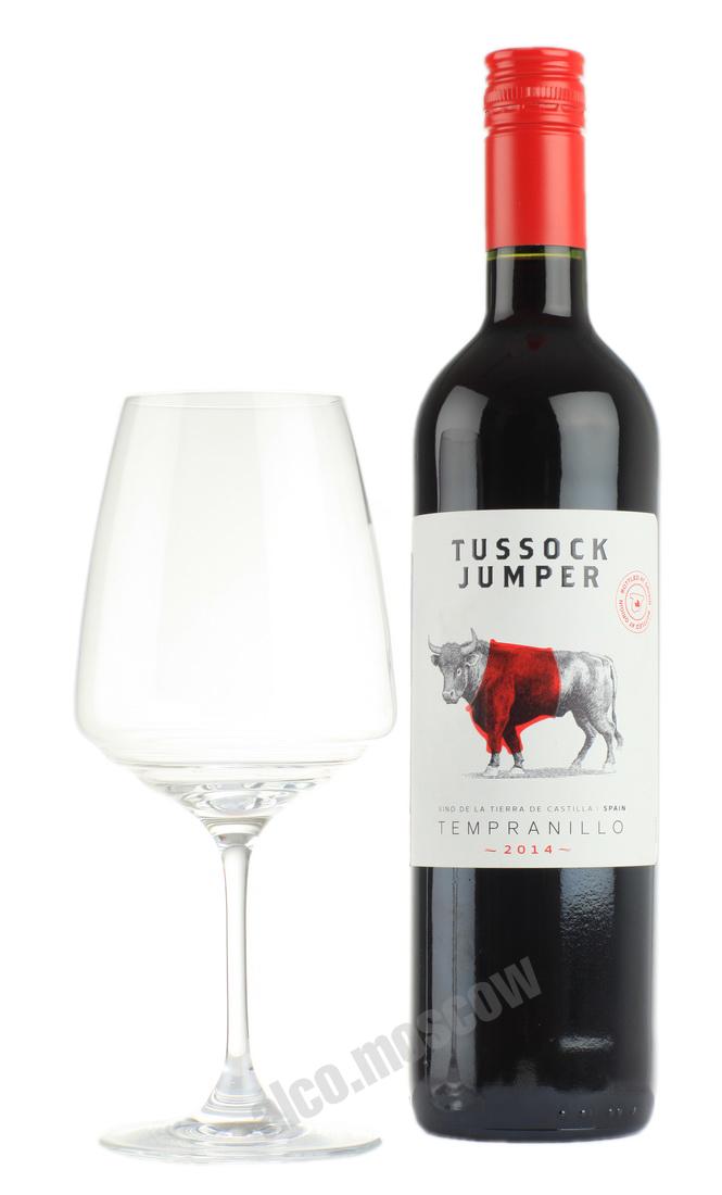 Tussock Jumper Tussock Jumper Tempranillo испанское вино Тассок Джампер Темпранильо