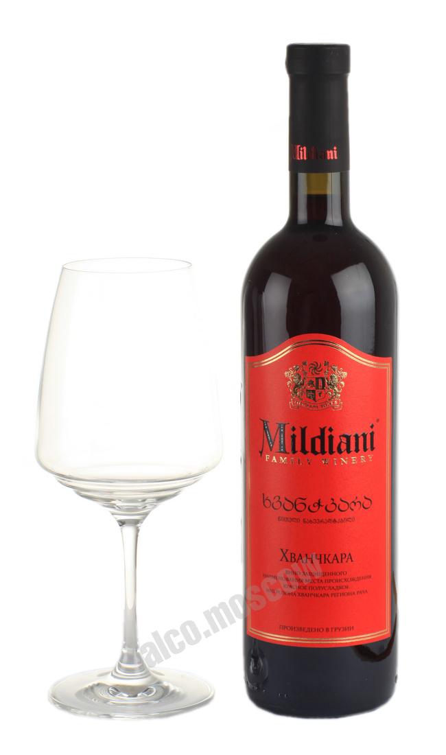 Mildiani Mildiani Khvanchkara грузинское вино Милдиани Хванчкара
