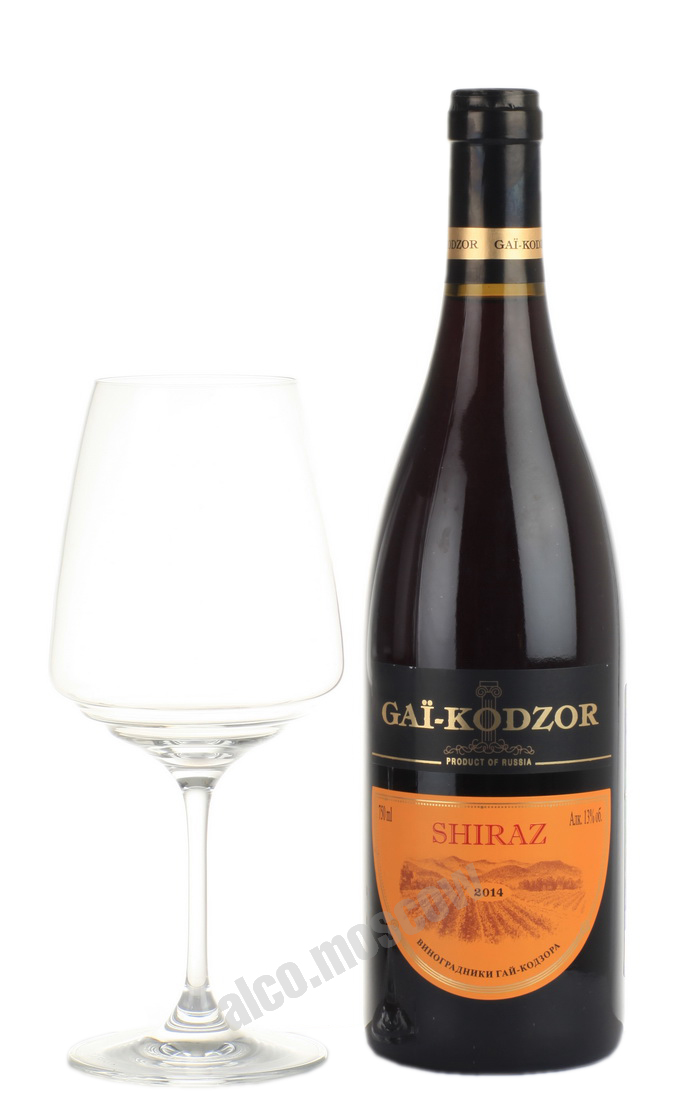 Gai-Kodzor Gai-Kodzor Shiraz Российское Вино Гай-Кодзор Шираз