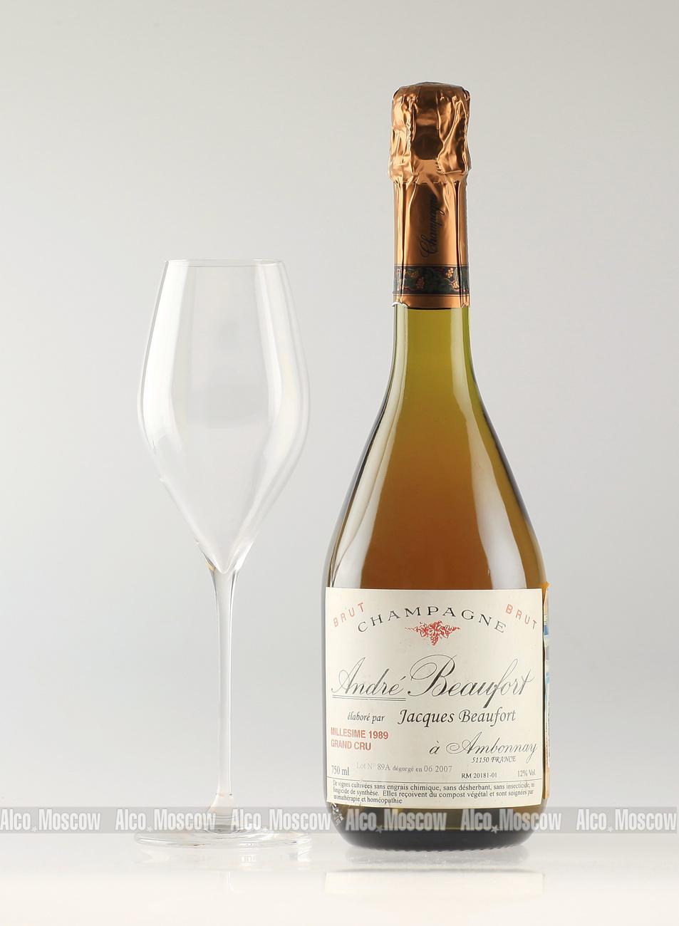Andre Beaufort Andre Beaufort Brut 1989 шампанское Андре Буфор Брют 1989 года