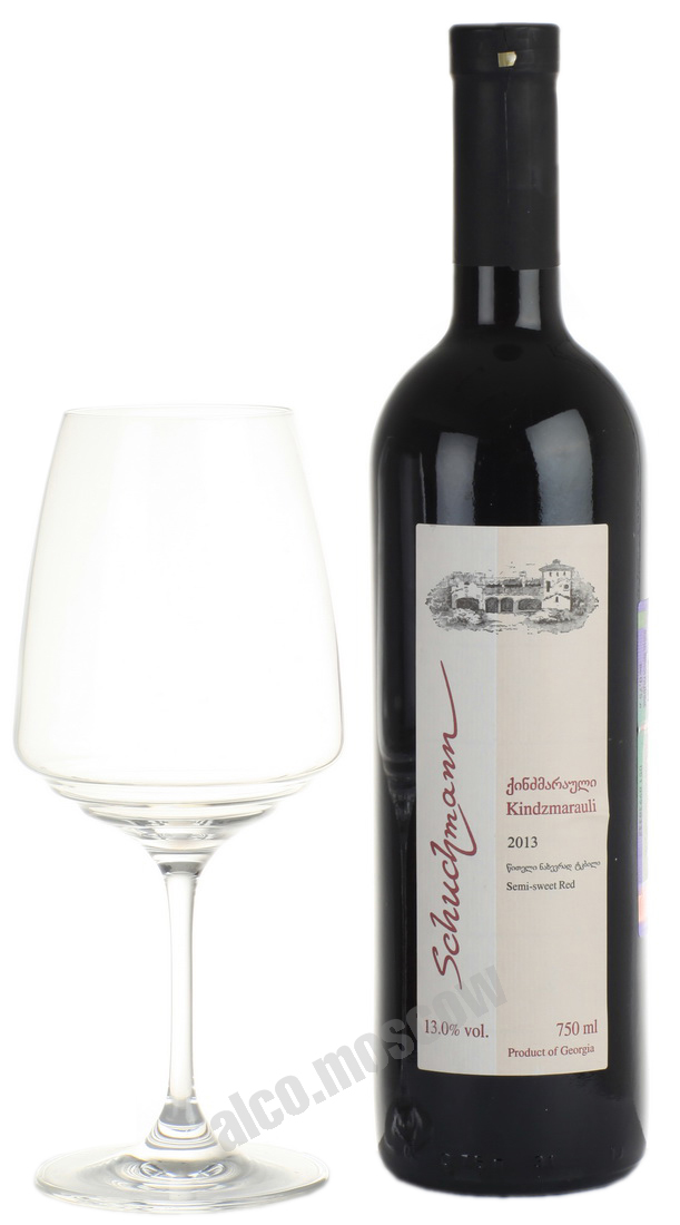 Schuchmann Wines Schuchmann Wines Kindzmarauli грузинское вино Шухманн Ваинс Киндзмараули 2013