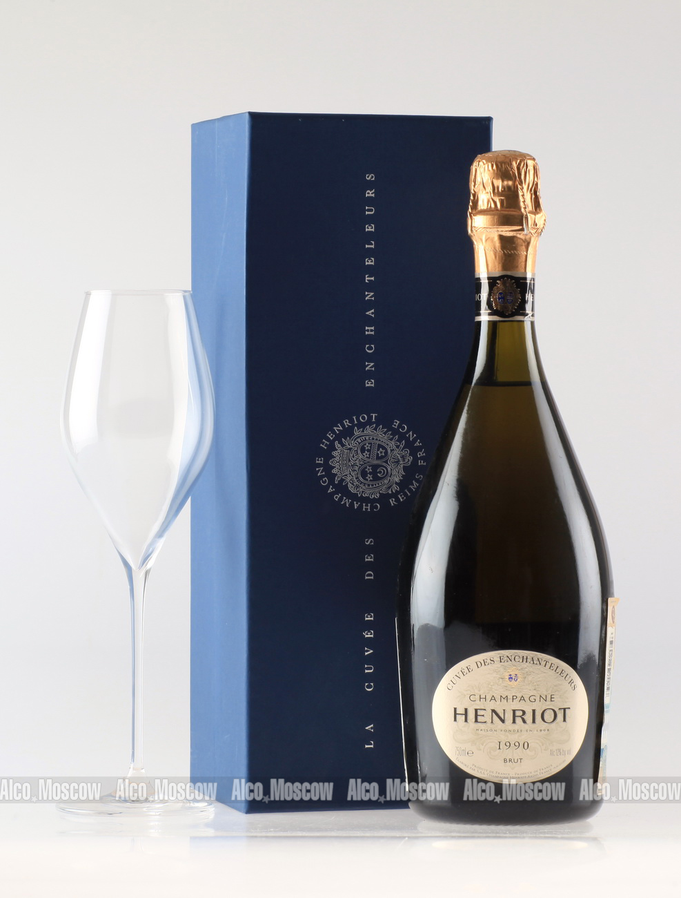Henriot Henriot 1990 шампанское Энрио 1990 года
