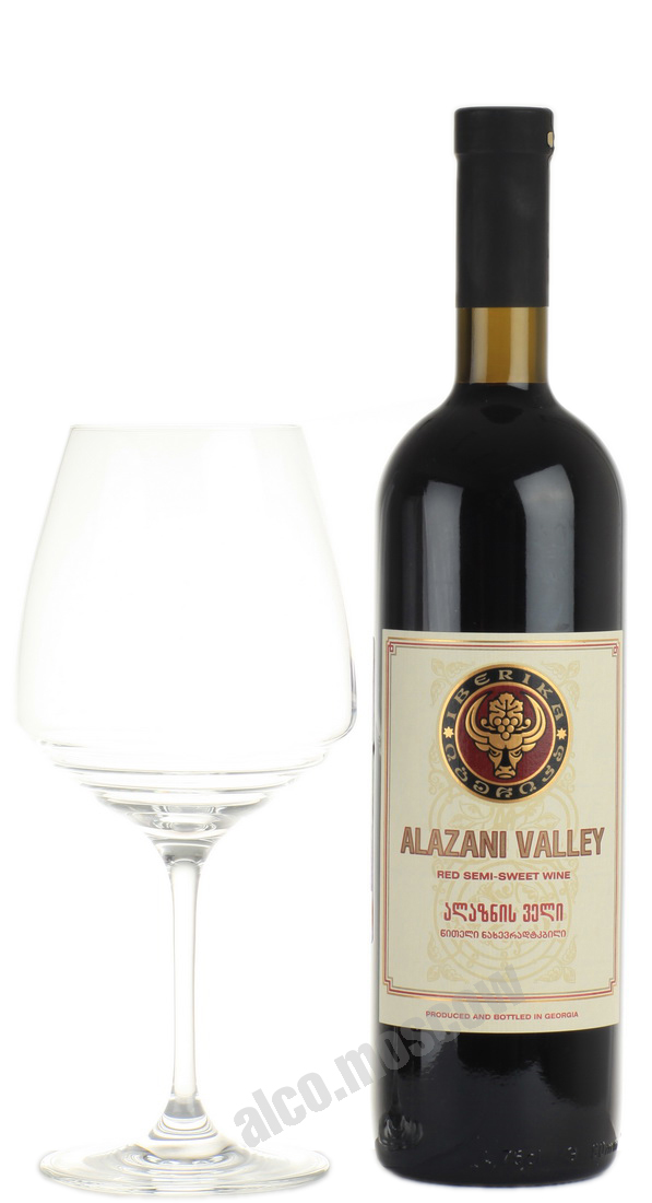Iberika Вино Iberika Alazani Valley Red Иберика Алазанская Долина Красное