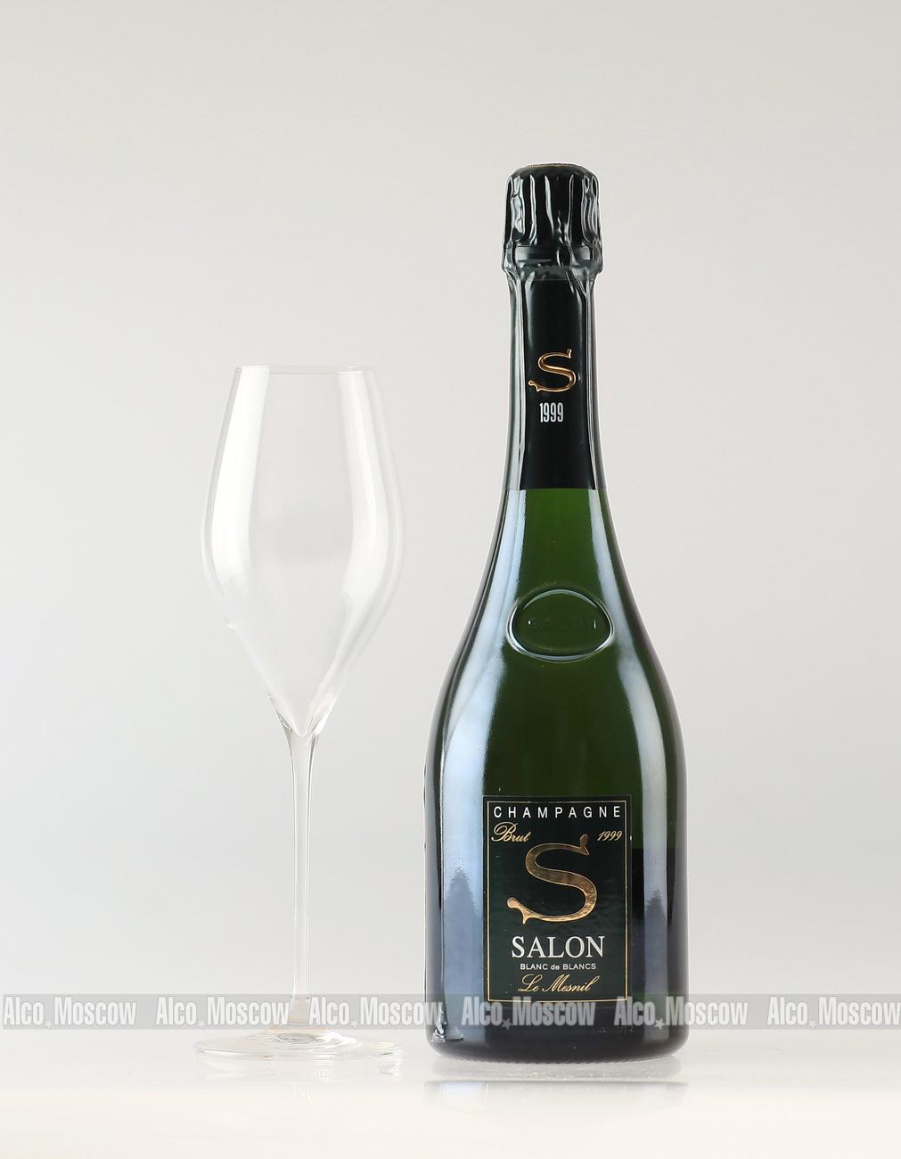 купить шампанское Salon Blanc de Blancs 1999 шампанское ...