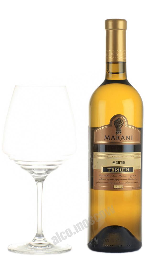 Marani Marani Tvishi Грузинское вино Марани Твиши