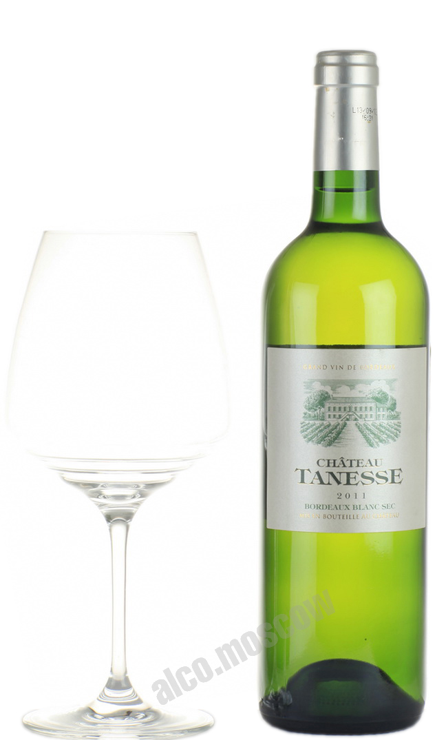 Chateau Tanesse Chateau Tanesse Bordeaux Blanc Французское вино Шато Танес Бордо