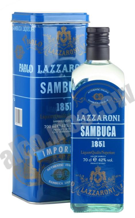 Lazzaroni Lazzaroni 1851 0.7l самбука Лаццарони 1851 0.7 л в п/у