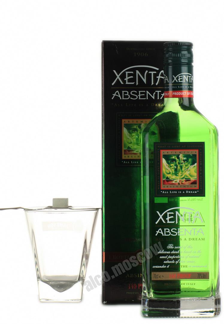 Xenta Xenta absinth Абсент Ксента в п/у