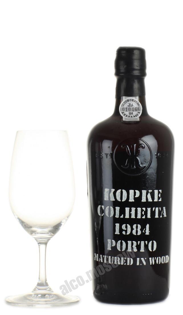 Kopke Porto Kopke Colheita 1984 портвейн Копке Колейта 1984 в д/у