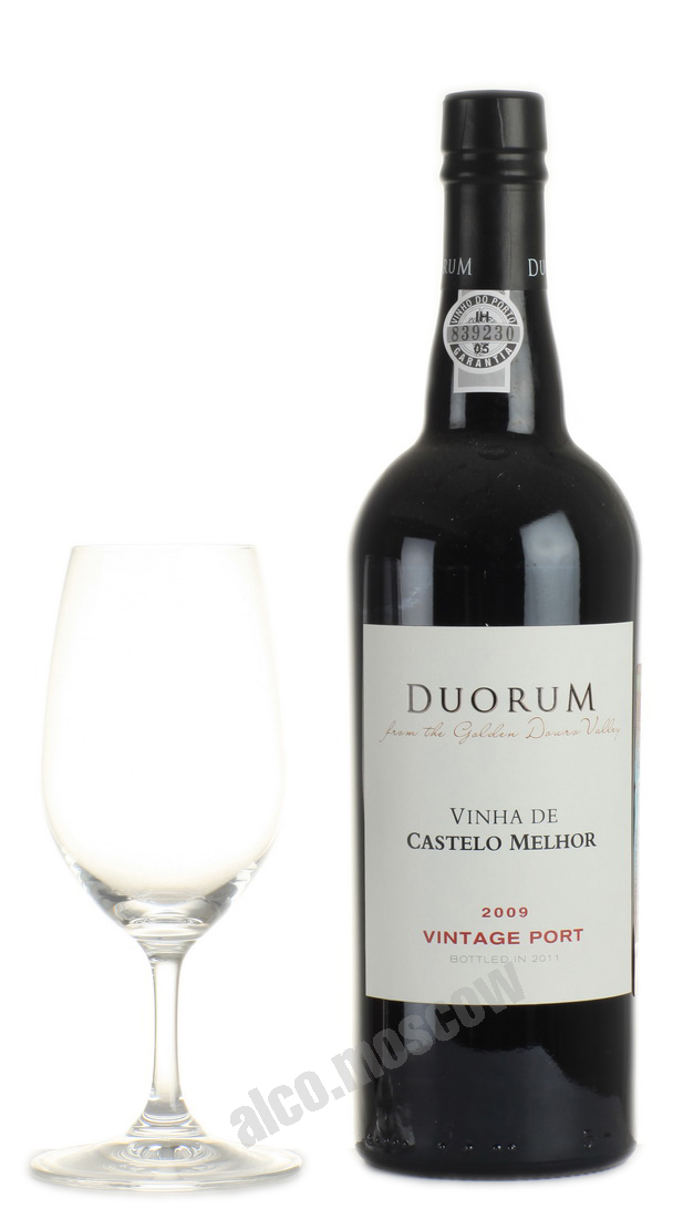 Duorum Vintage Port 2009 портвейн Дорум Винтаж Порт 2009 в п/у