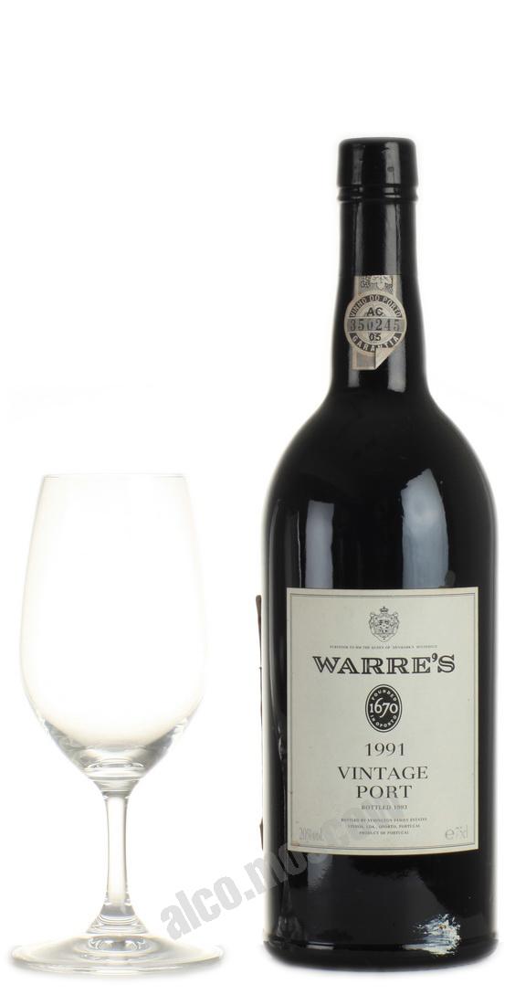 Warres  Warres Vintage 1991 Портвейн Уоррс Винтаж 1991