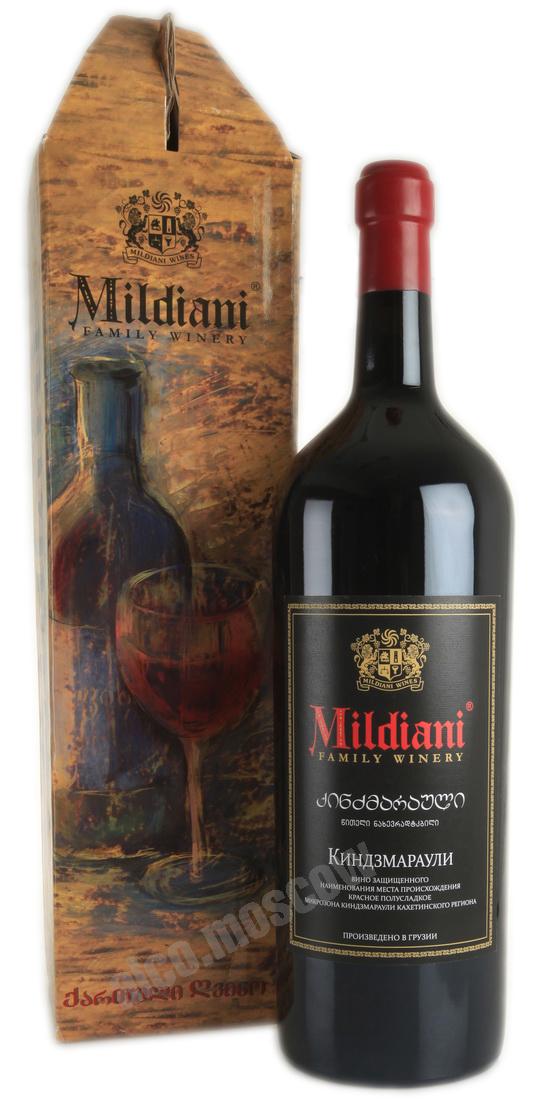 Mildiani Mildiani Kindzmarauli грузинское вино Милдиани Киндзмараули 5l