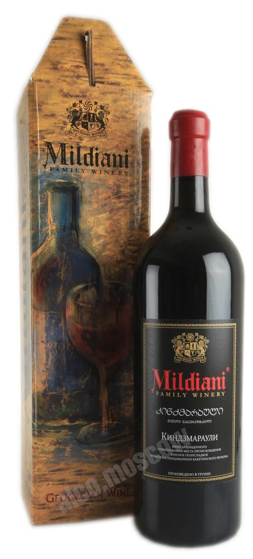 Mildiani Mildiani Kindzmarauli грузинское вино Милдиани Киндзмараули 3l