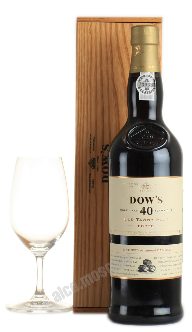 Dows Dows 40 years old Tawny Портвейн Доуз Тони 40 лет