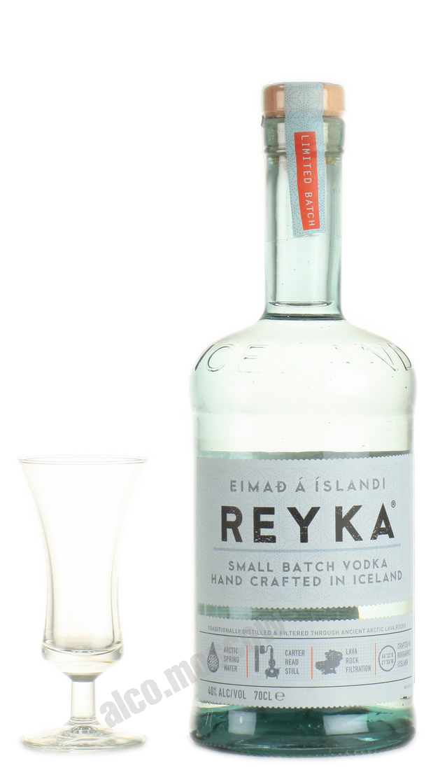 Reyka Reyka Small Batch Vodka Исландская Водка Рейка Смол Батч