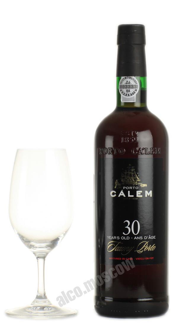 Calem  Calem 30 years old Tawny Портвейн Калем Тони 30 лет