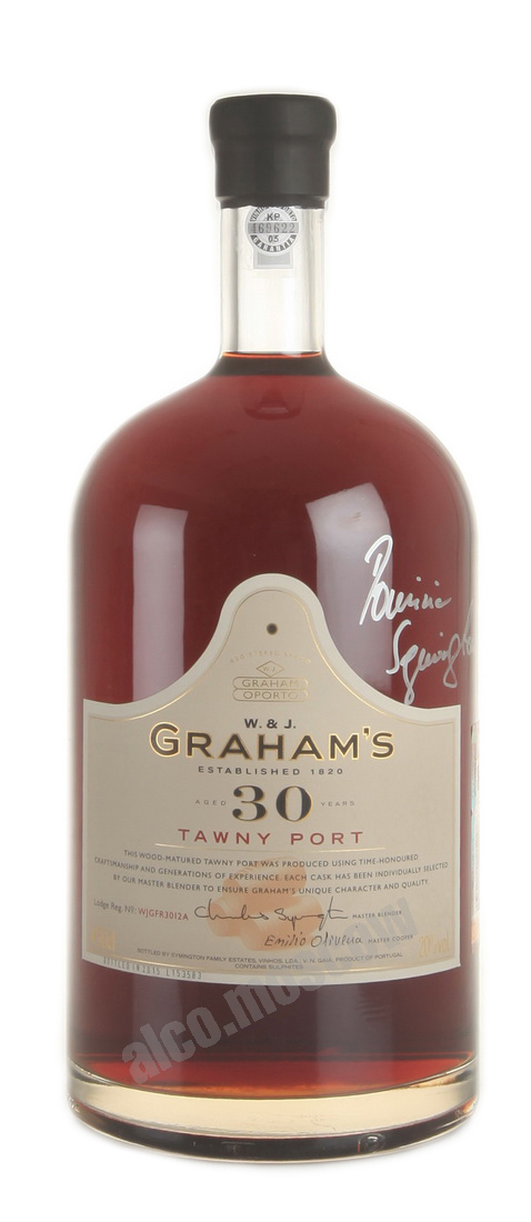 Grahams Grahams Tawny Port 30 years 4.5l портвейн Грэмс Тони Порт 30 лет 4.5л