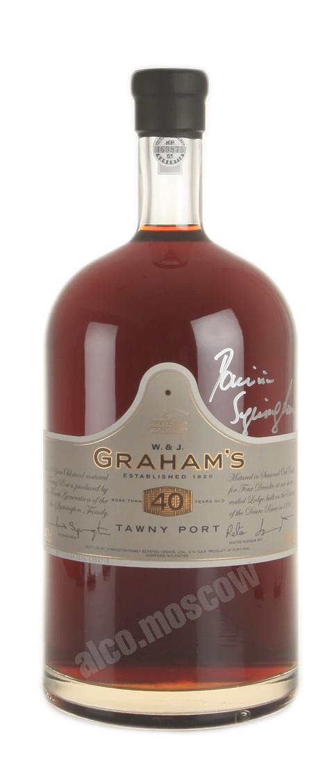 Grahams Grahams Tawny Port 40 years 4.5l портвейн Грэмс Тони Порт 40 лет 4.5л