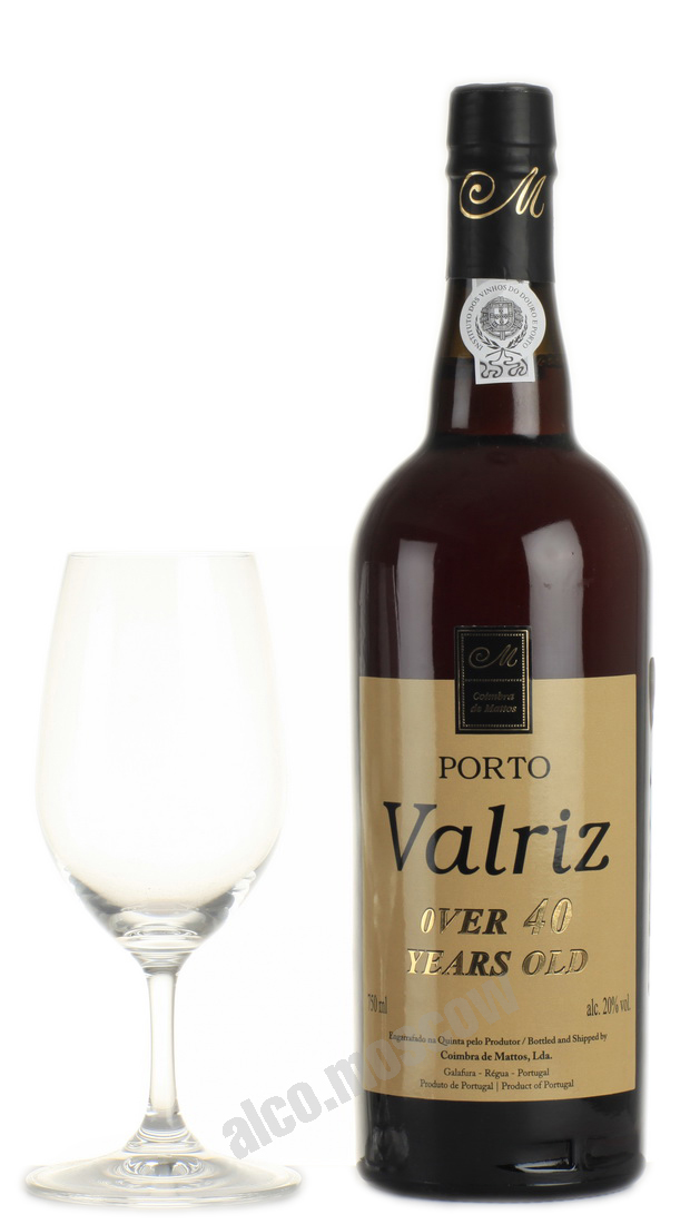 Valriz Porto Valriz 40 years портвейн Валриц 40 лет
