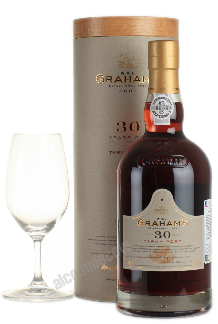 Grahams Grahams 30 years old Портвейн Грэмс 30 лет