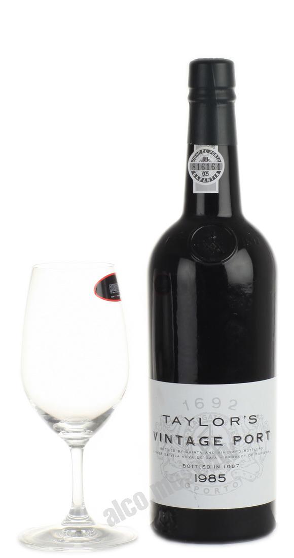 Taylors  Taylors Vintage Port 1985 Портвейн Тейлорс Винтаж Порт 1985