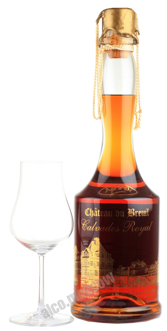 Chateau du Breuil Chateau du Breuil Royal 30 years кальвадос Шато Дю Бреиль Роял 30 лет