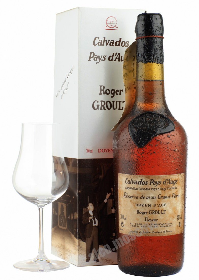 Roger Groult Roger Groult 40 years Кальвадос Роже Груль 40 лет