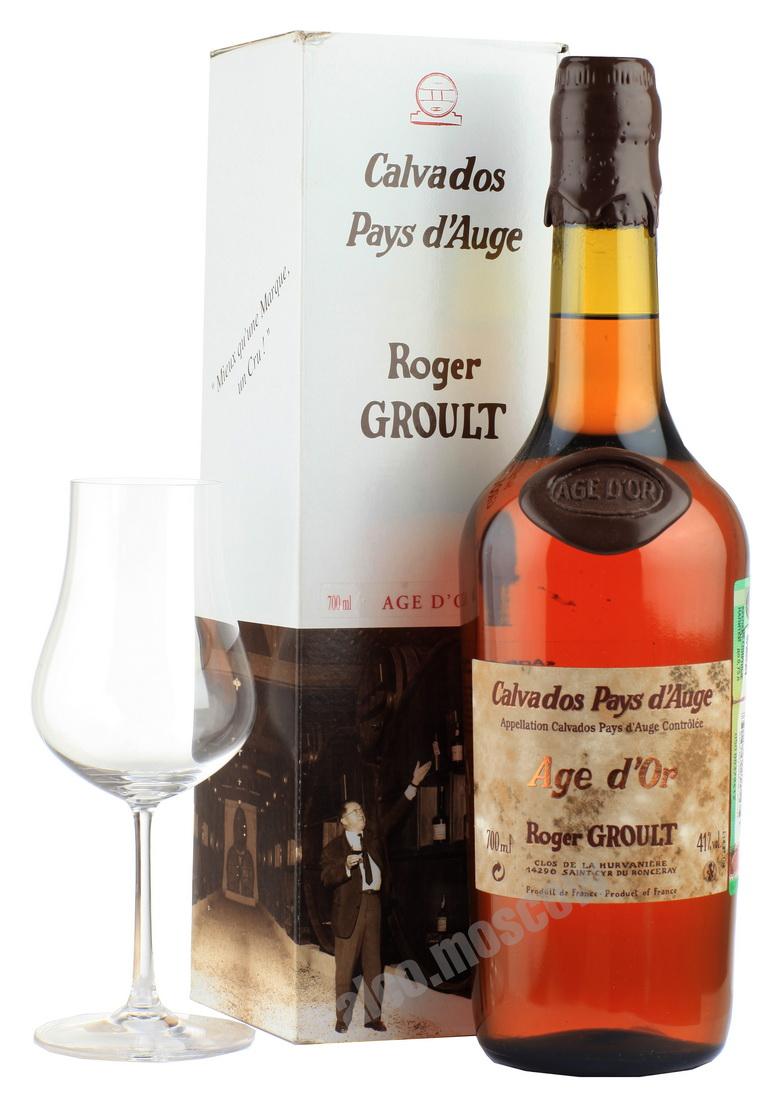 Roger Groult Roger Groult 30 years Кальвадос Роже Груль 30 лет