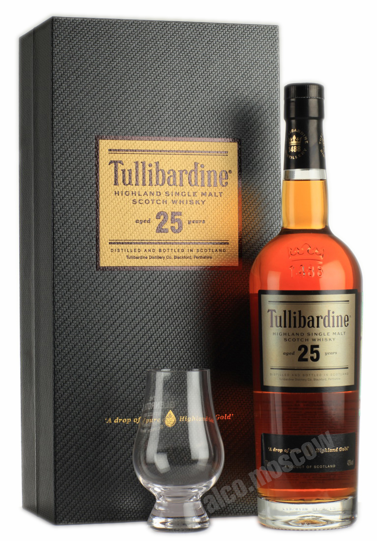 Tullibardine Tullibardine 25 years old шотландский виски Тулибардин 25 лет